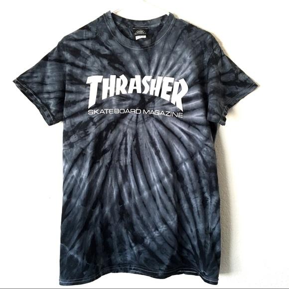 39cf891dd669 Thrasher Tie Dye T-shirt. M_5b66e5f12aa96a145c93cdd0